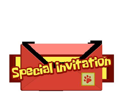 스페셜 이벤트 레이어 편지봉투 앞