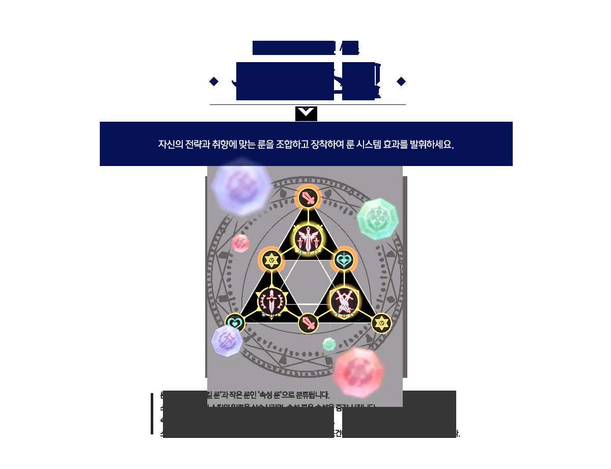 이벤트 3 네번째 컨텐츠 (룬 시스템)